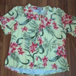 Vintage Hawaiian Blouse